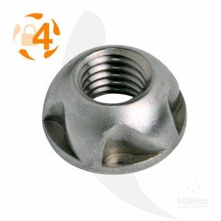 Diebstahlhemmende Mutter Kinmar Removable A2  /  Abmessung: M12 // 10 Stück