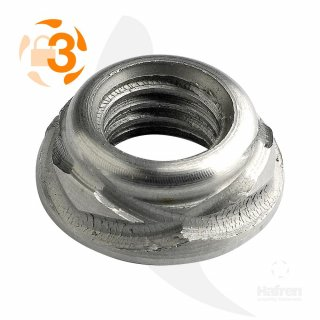 Scroll-Muttern A2  / M 4 // 50 Stück