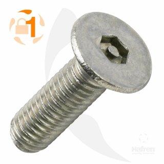 Metrische Pin Hexagon Senkkopf A2  / M12 x  30 // 10 Stück