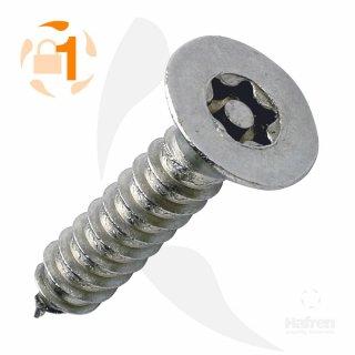 Blechschraube Resis-TX SK A2  / 3,5 x  25 // 10 Stück