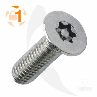 Metrische Resis-TX Senkkopf A2  / M 3 x  12 // 10 Stück