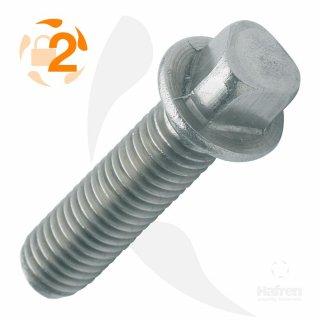Metrische Schraube Dreikantkopf A2  / M 8 x  20 // 100 Stück