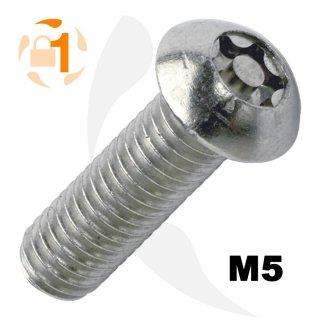 Metrische Resis-TX  Flachrundkopf A2 M5